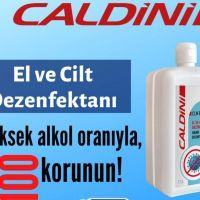 CLN 03750 CALDİNİ EL VE YÜZ DEZENFEKTANI 1 LİTRE